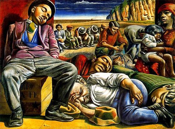 Desocupados (1934), de Antonio Berni