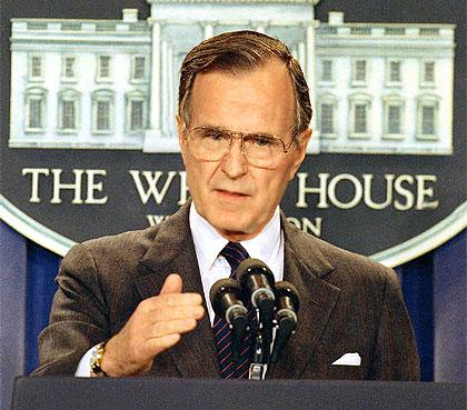 Biografia de George H. Bush