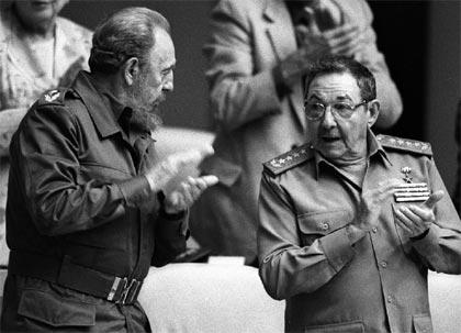 Resultado de imagen para Fidel y raul castro Ruz