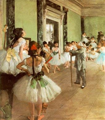 Clase de baile (1872)