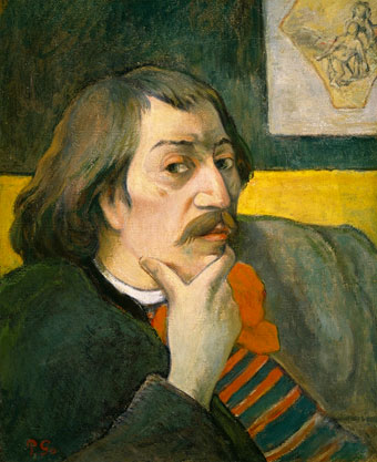 Retrato de Paul Gauguin