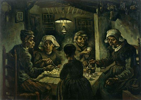 Los comedores de patatas (1885)