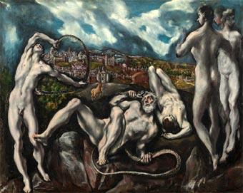 Laoconte (c. 1612), de El Greco