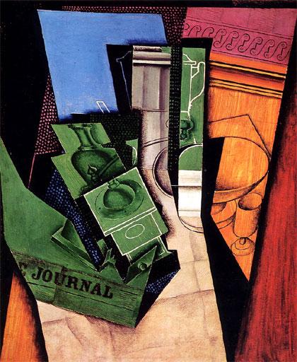 El desayuno (1915), de Juan Gris