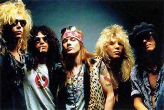 Resultado de imagen de Guns N Roses - Biografía