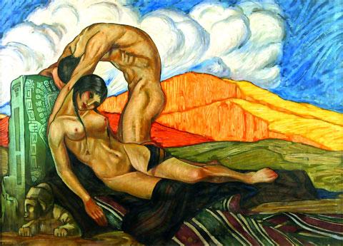 El triunfo de la naturaleza (1928), de Cecilio Guzmán de Rojas