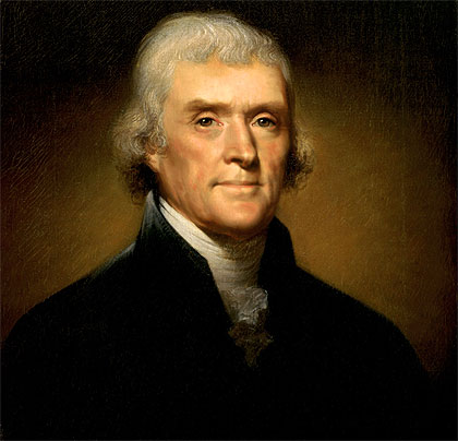 Biografia de Thomas Jefferson