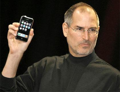 2646955f5fe Steve Jobs en la presentación del iPhone (2007)