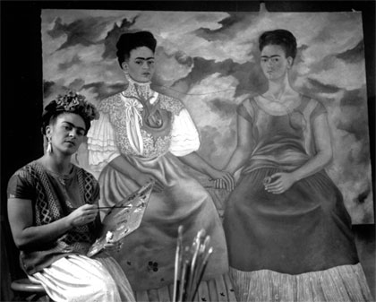 biografia de frida kahlo. Black Bedroom Furniture Sets. Home Design Ideas