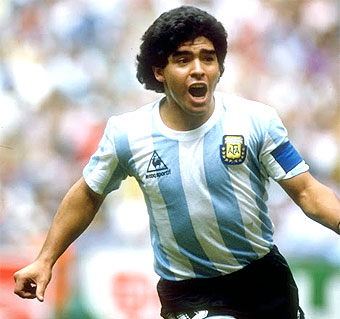 ¿Cuánto mide Diego Armando Maradona? - Altura - Real height Maradona_1