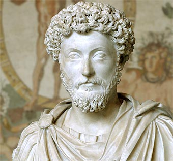 Marco Aurelio (121-181) Emperador y filósofo romano.