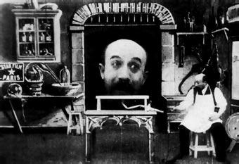Fotograma de El hombre de la cabeza de goma (1901)
