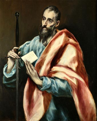 San Pablo (óleo de El Greco)