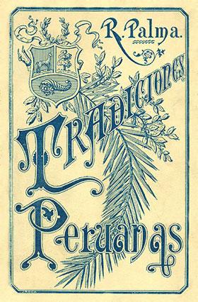Primera edición española de las Tradiciones peruanas (1893)