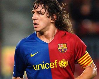 El mejor defensa Carles Puyol