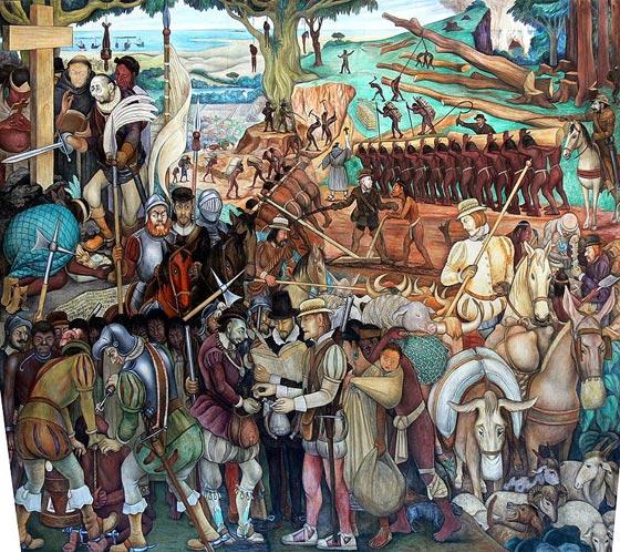 Biografia de diego rivera for Definition mural