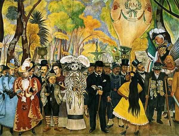 Definicion De Pintura Mural Of Biografia De Diego Rivera