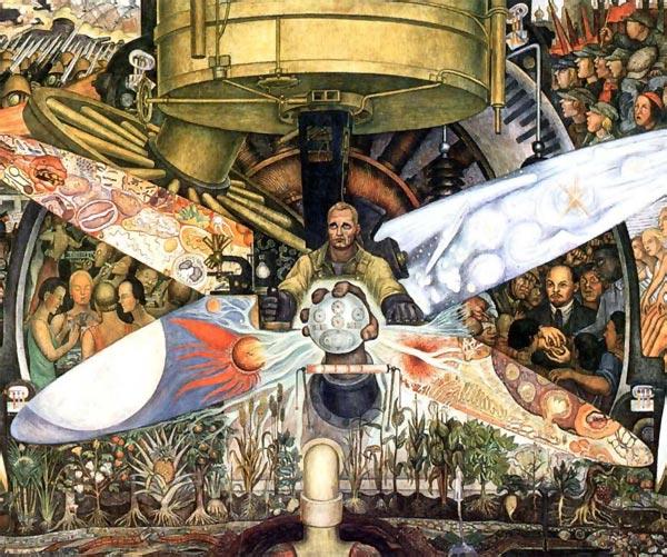 Biografia de diego rivera for Un mural de diego rivera