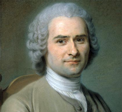 the life of jean jacques rousseau Jean-jacques rousseau stresses, like john lockem the idea of a social contract  as the basis of society locke's version emphasised a contact between the.