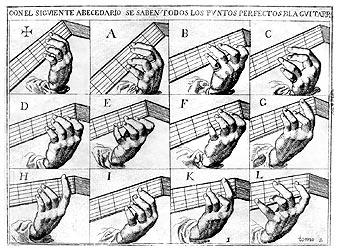 gaspar sanz instrucción de música sobre la guitarra española pdf