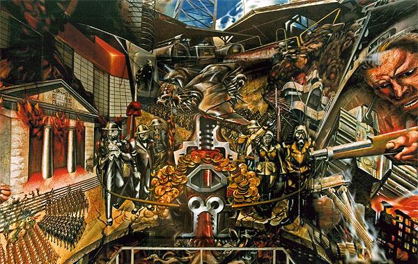 Biografia de david alfaro siqueiros for El mural de siqueiros pelicula