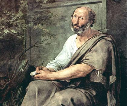 La metáfora una figura retórica acuñada por Aristóteles | Imagen: óleo de Francesco Hayez (1811), publicado en biografiasyvidas.com