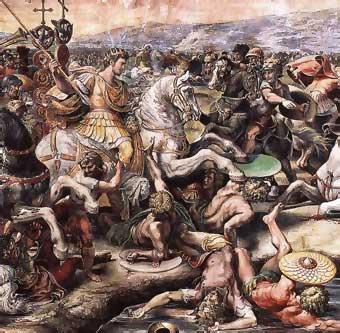 La batalla del Puente Milvio