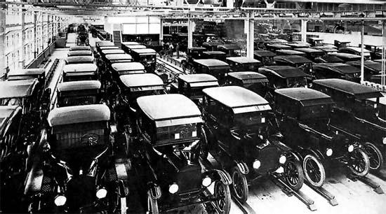Casa Ford El Paso >> Henry Ford. Fotos: Producción en serie