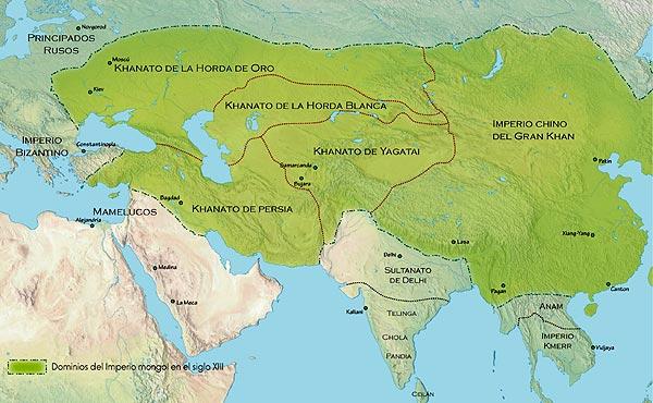 Tamerlán, El Sangriento Emperador Mongol.