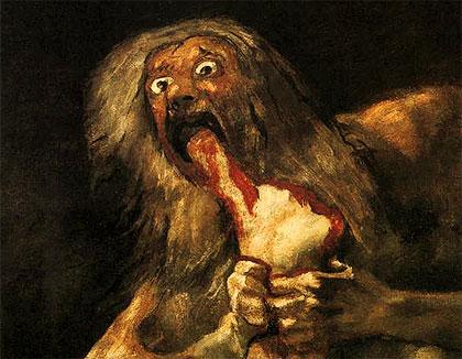 Pongan un cuadro en su vida - Página 15 Goya_saturno