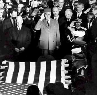 El funeral de Kennedy
