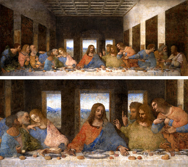 imagenes de las obras de leonardo da vinci: