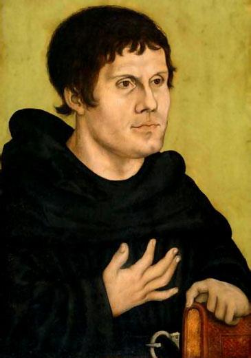 Un joven Lutero