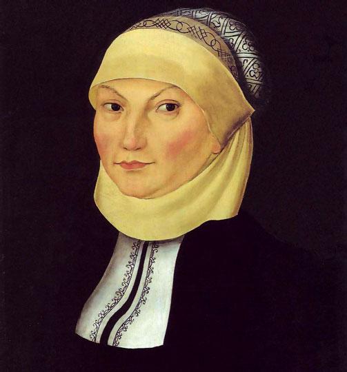 Katharina De Bora, su cónjuge