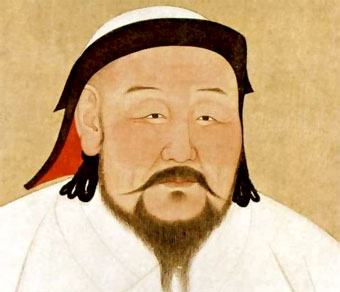 what was the relationship between marco polo and kublai khan