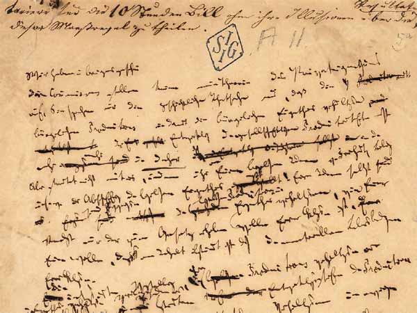 Manifest Comunista, manuscrit