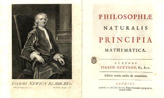 Tercera edición de los Principios matemáticos de la filosofía natural