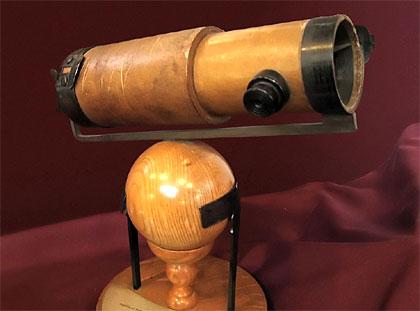 Réplica del telescopio de Newton