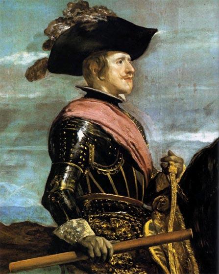 Diego Velázquez. Cuadros: Retrato ecuestre de Felipe IV de España ...
