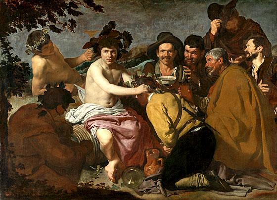 Los borrachos o El triunfo de Baco (c. 1629)