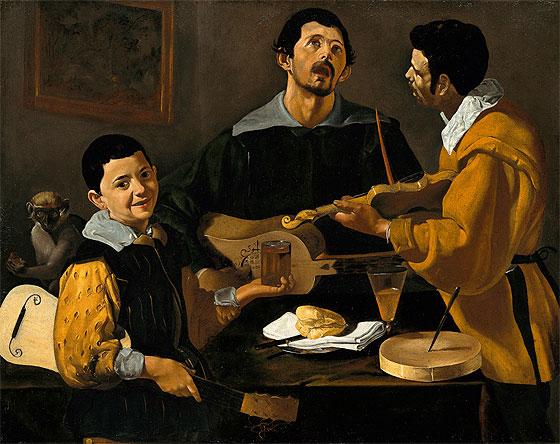 Tres músicos (c. 1618)