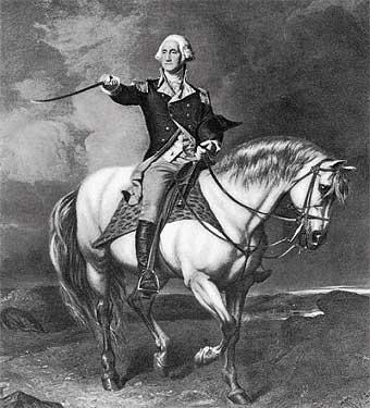 george washington la independencia de los estados unidos