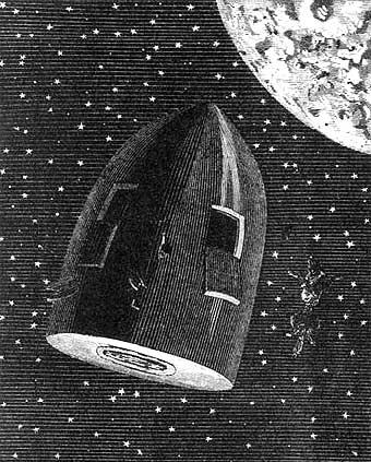#RecomiendoLeer De la Tierra a la Luna – Julio Verne.