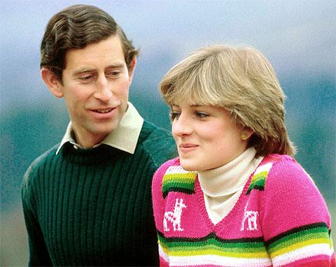 Diana de Gales. Carlos y Diana